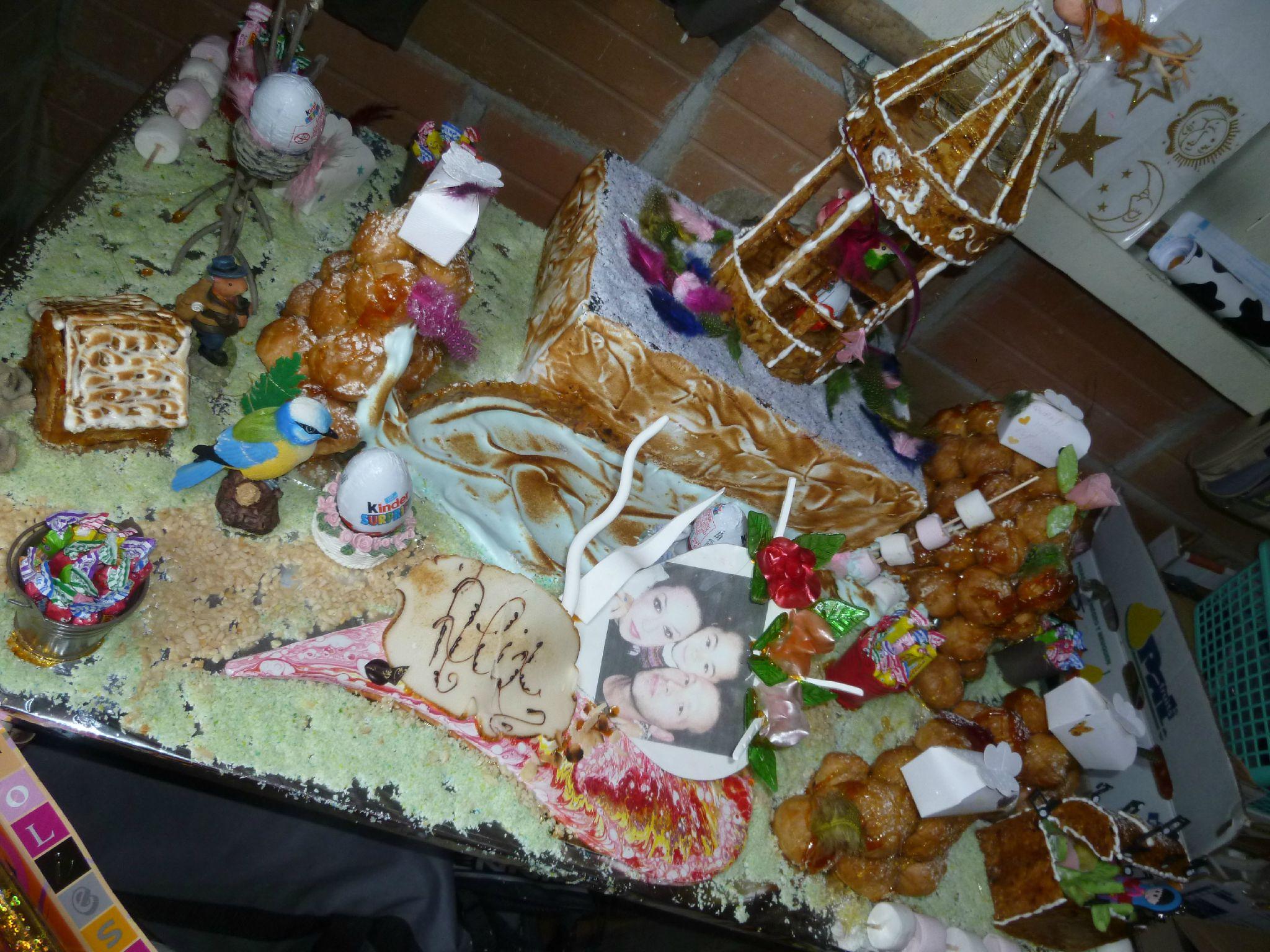 La magie des pieces mont es la cuisine du chef bruno for Piece montee decoration