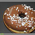 Donuts vanille /chocolat