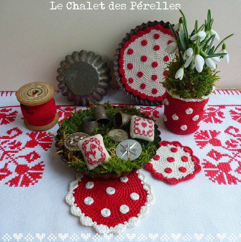 Decoration cuisine en crochet avec des for Decoration de cuisine en crochet