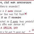 Promo anniversaire thaliris @ dc