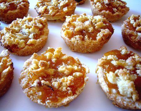 Croustades aux abricots