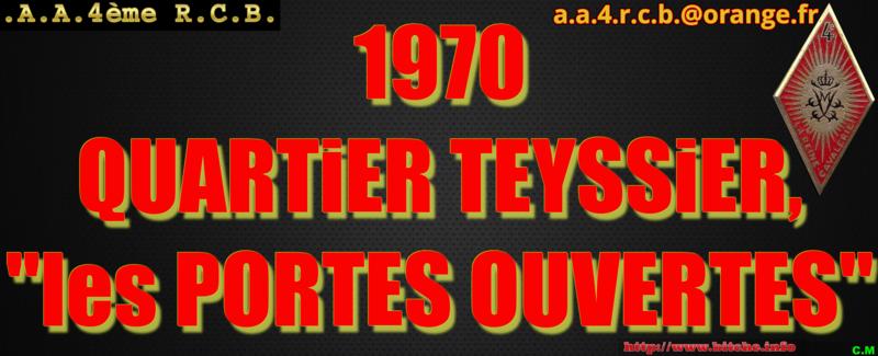 1970 QUARTiER TEYSSiER les PORTES OUVERTES