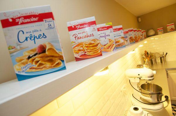 atelier Francine préparations blog chez requia cuisine et confidences