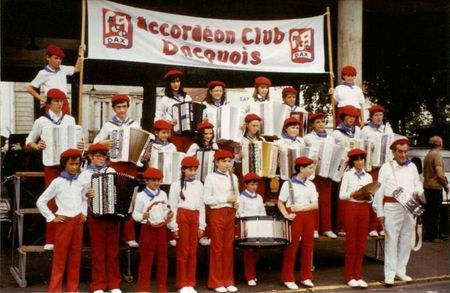 Accordéon CPM Club Dacquois