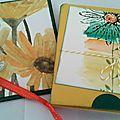 Cartes pochettes...en atelier ... suite