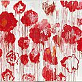 Centre pompidou opens major retrospective of the work of artist cy twombly