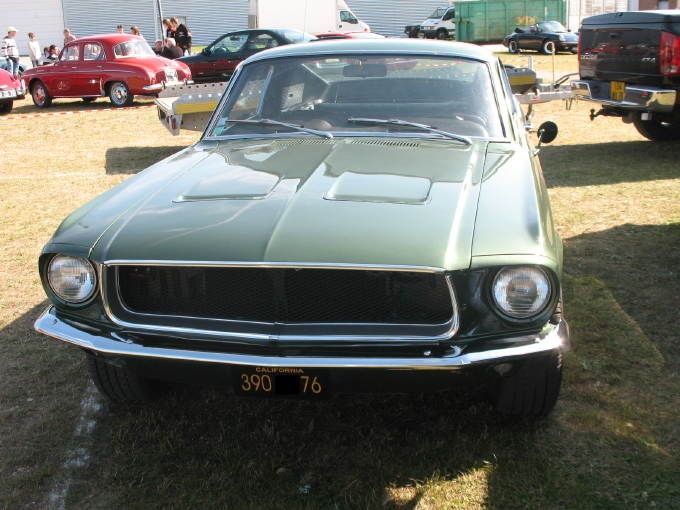 Super Ford Mustang Fastback 390 GT (1968) - Autos-Croisées EW58