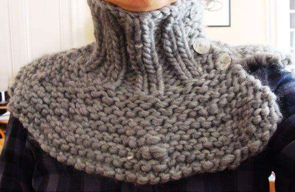 comment tricoter un tour de cou facile