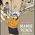 Mamie denis évadée de la maison de retraite - edimo et adjim danngar - editions l'harmattan