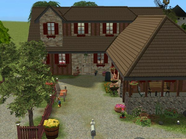 Maisons deco sims2 for Decoration maison sims 4