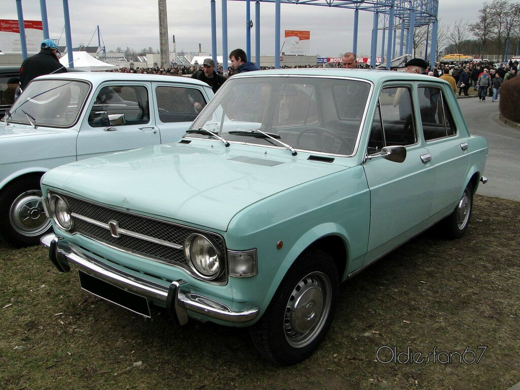 fiat 128 berline 1970 oldiesfan67 mon blog auto. Black Bedroom Furniture Sets. Home Design Ideas