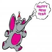 8177239-happy-new-year-olifant