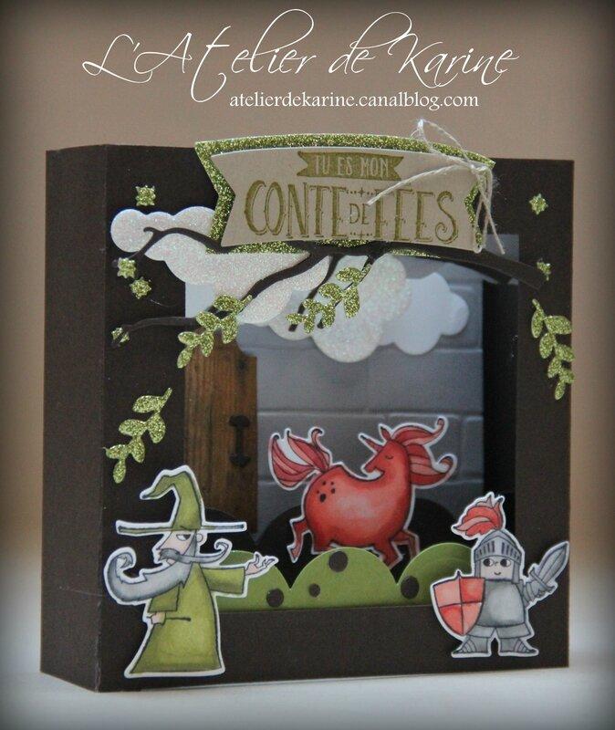 Carte Diorama Conte de Fées 2
