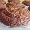 ...décadents cookies tout chocolat... (nigella lawson)