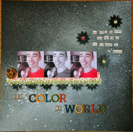 You Color my world LO