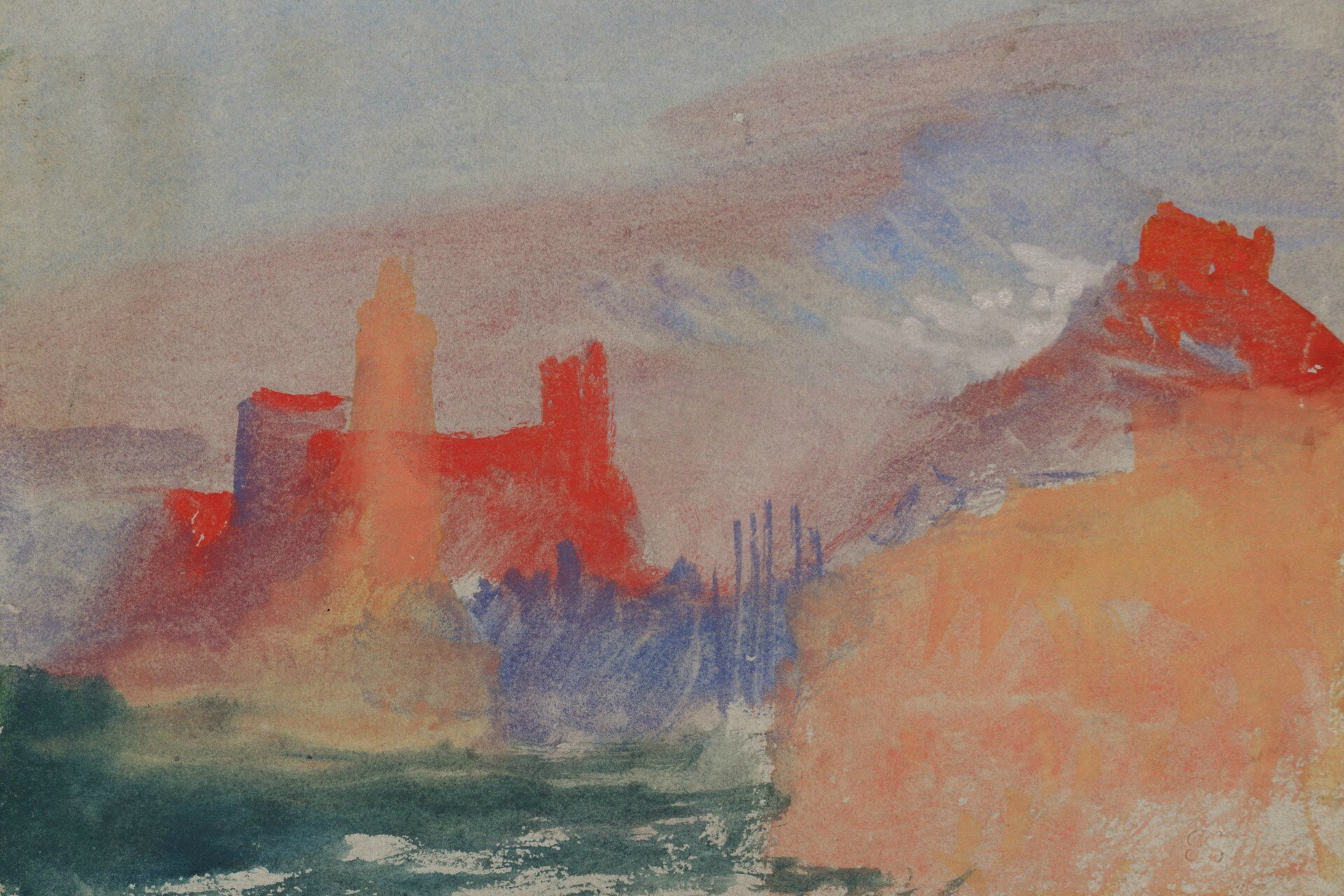 First exhibition to examine the radical use of colour in JMW Turner's work opens