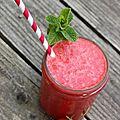 Strawberry drink il vous faut : 500 grammes de