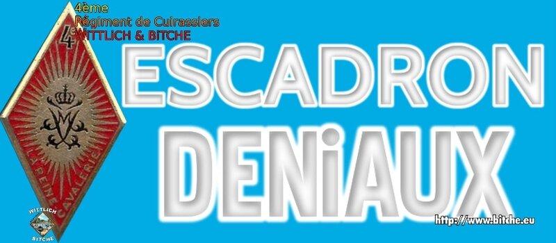 - PANNEAU d' ESCADRON CAPiTAiNE DENiAUX