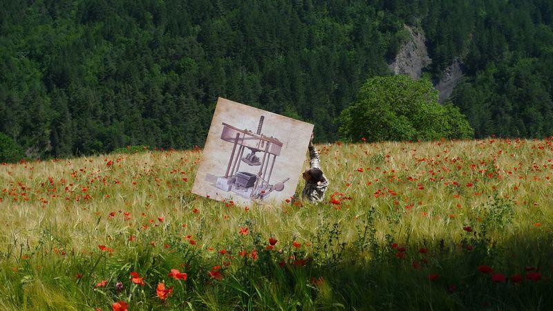 la presse se promène dans les champs ambroise aussenac fleur hum