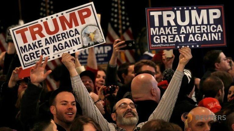 USA 2016 anti-establishment voters