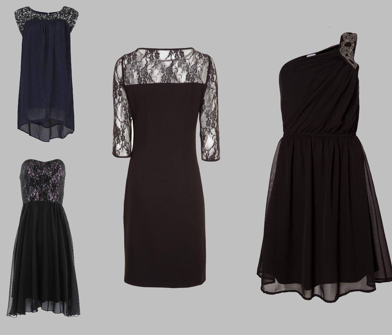 Petite robe noire pour le reveillon