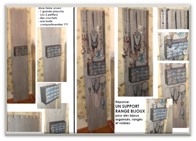 les cr ations de carole partie 3 et fin porte bijoux et meuble m tallique la casa de tocaloric. Black Bedroom Furniture Sets. Home Design Ideas