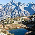 005 Les Ecrins ; Lacs de Pétarel ; L'Olan