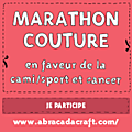Marathon couture pour l'association Cami Sport et Cancer