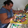 gigi peint le mandala