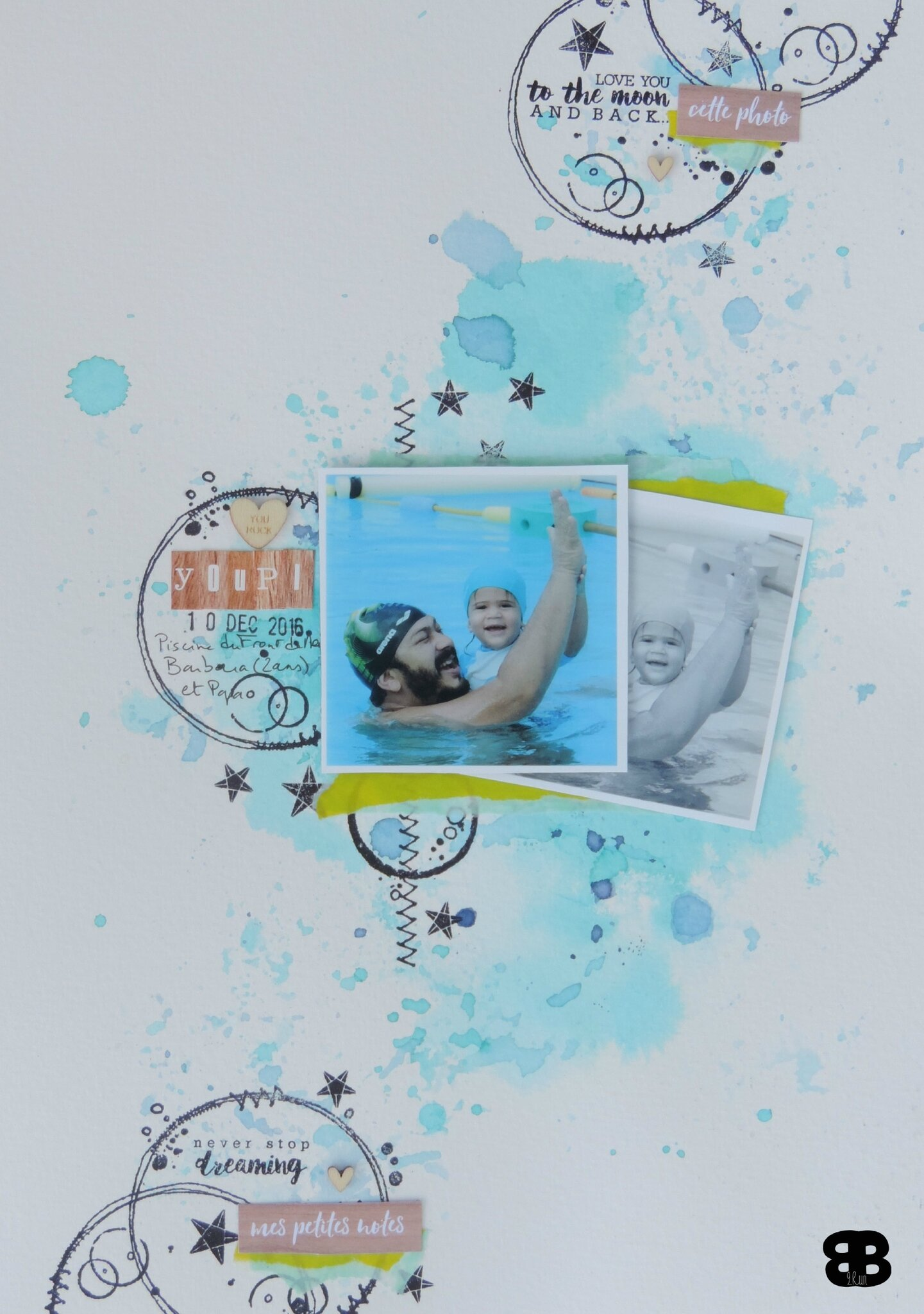 Scrapbooking A4 #214 - Inspiration