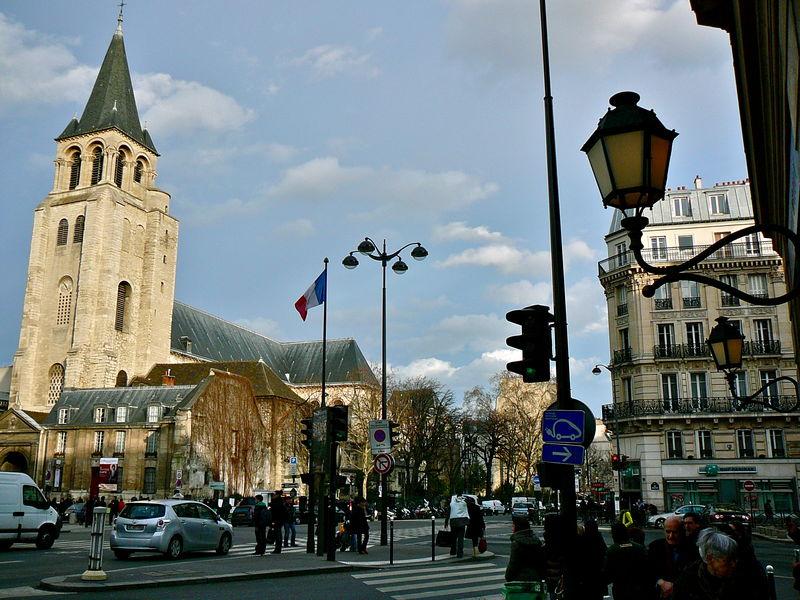 Atmosphère à Saint-Germain des Prés.