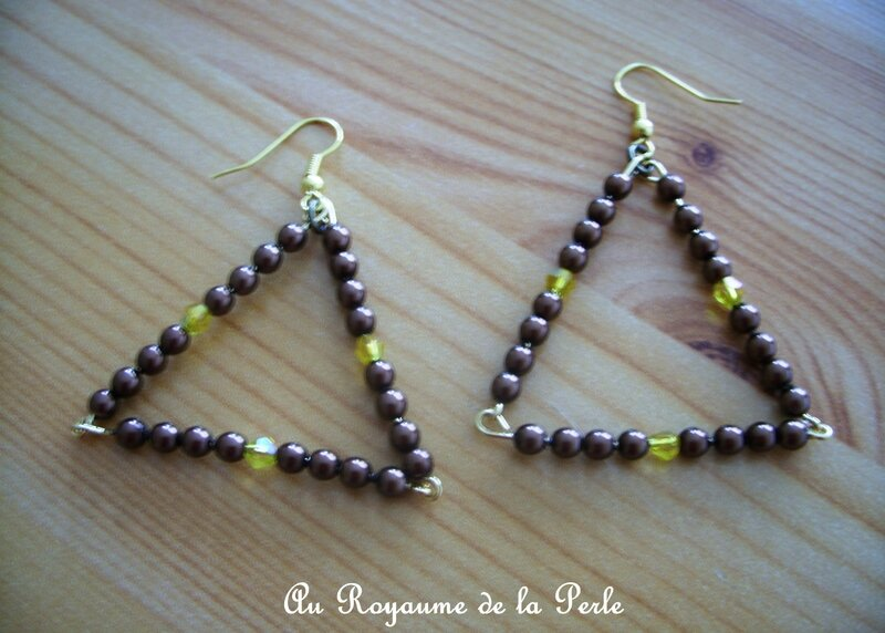 BO triangle marron