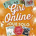 Girl online joue solo, de zoe sugg