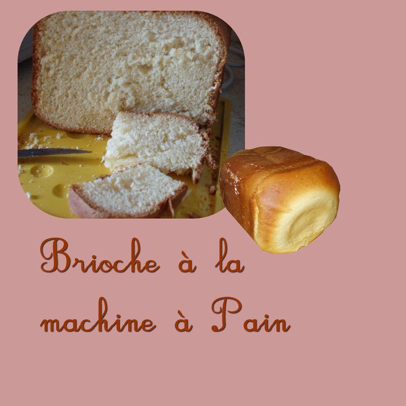 Brioche la machine pain les recettes de karipuce - Brioche machine a pain ...
