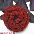 Rose Noro 1 en Kureyon (Noro)