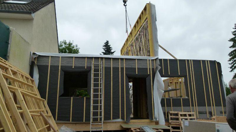 P1000445 photo de montage de la structure etage for La structure d une maison