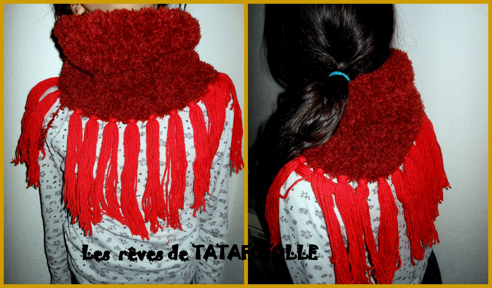 Snood tricot SL TTF
