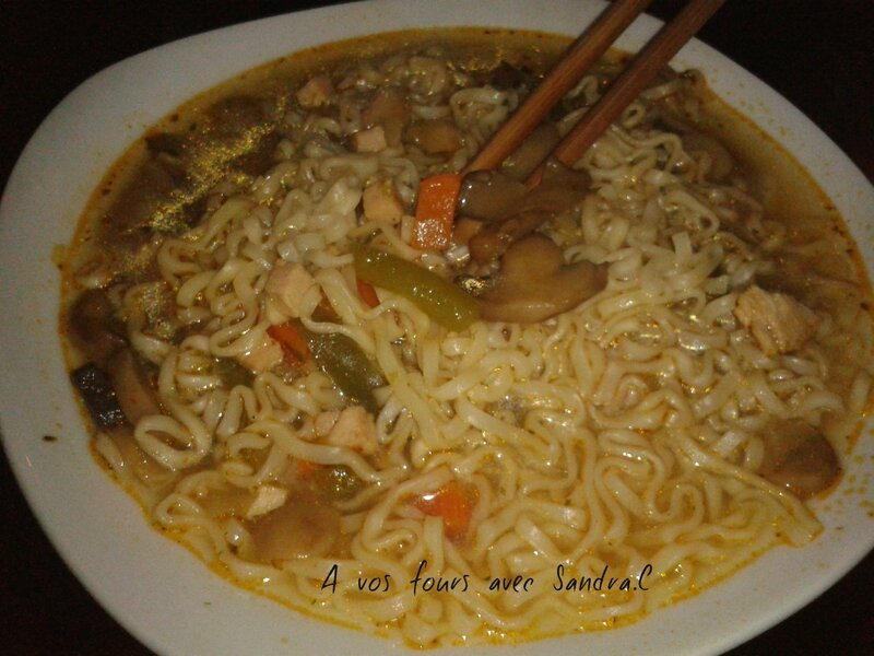 soupe nouille chinoise