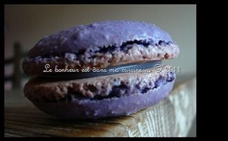 Macarons violette