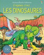 Enigmes chez les dinosaures couv