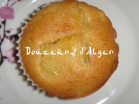 muffin à l'ananas