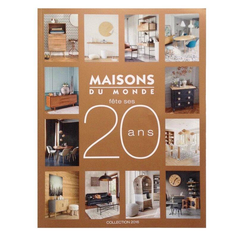 nouveau catalogue maisons du monde 2016 deco trendy. Black Bedroom Furniture Sets. Home Design Ideas
