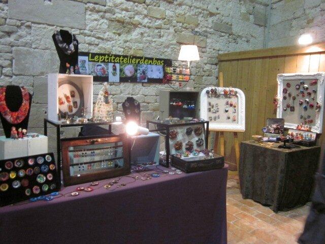 2015 - octobre - 30 (et 1er novembre) - Salon de la Création de Honfleur - Stand LE P'TIT ATELIER D'EN BAS (2)