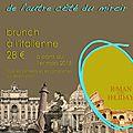 Brunch a l'italienne a partir du 1er mars 2015