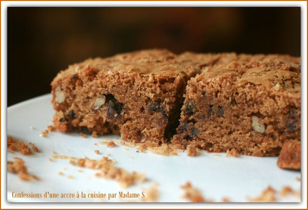 Brownie spéculoos, pécan, chocolat 006