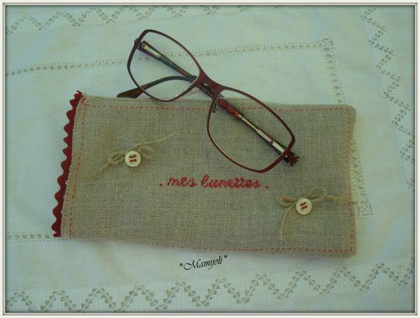 -Misss Shopping étui à lunettes