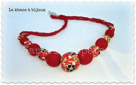 collier tissu japonais rouge et crochet2