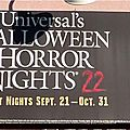 Halloween horror night 2012