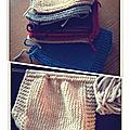 Mon interminable couverture à tricoter