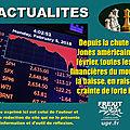 La chute des bourses mondiales en trois questions